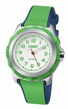Limit Childs Silver & Green Watch White Dial with Green Numbers 5602