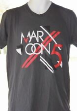 Maroon 5 Concert Tshirt 2013 Adam Levine Tour Medium Grey Tee ~ Free Shipping!