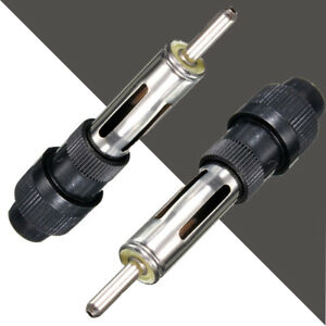 "1* Car Audio Radio Aerial Antenna 2.36"" Male Plug Adapter Handle Screw Connector"