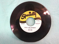 Earl King, Funny Face / Sittin And Wonderin, Specialty Records SP 558-45, 1955