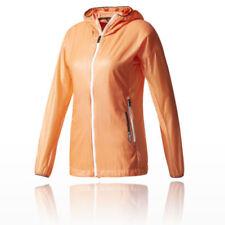 Giacche e impermeabili da campeggio da donna arancioni Taglia 40