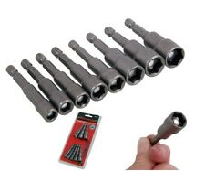 8 PIECE MAGNETIC NUT DRIVER SOCKET BIT SET  6, 7, 8, 9, 10, 11, 12 & 13mm CT4140
