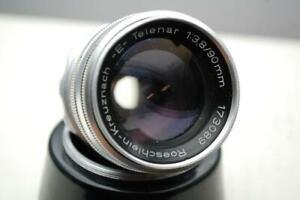 Roeschlein-Kreuznach -E- Telenar 90mm F3.8 Portrait Lens, Faulty