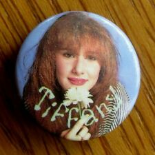 More details for tiffany vintage metal button badge from the 1980's pop i think we're alone now