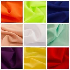 """Poly Poplin Fabric 1 Yard Of 100% Polyester 60"""" Wide 24 Color mask fabric"""