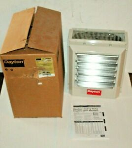 Dayton 5kW Electric Unit Heater, 3-Phase, 480V, 2YU63