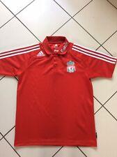 Adidas Liverpool Football Club Polo Training Football Shirt 2008 Med FOC Postage