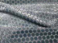 Romo Orossi French Blue Velvet Chenille Upholstery Jacquard Rb 9024/04