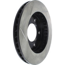 Disc Brake Rotor-Sport Slotted Brake Disc Front Left Stoptech 126.65058SL
