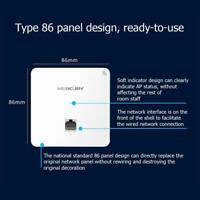 300Mbps in-Wall WiFi WirelessPanel Socket AP Router POE Access Point 802.11b/g/n