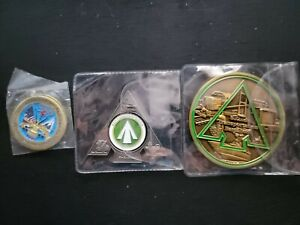 US ARMY Military Coins Rare Rotate Transportation