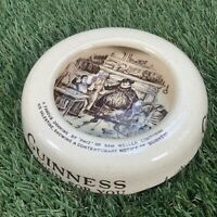 VTG 50s Guinness Ashtray - Phiz Sam Weller Cauldon Potteries - Pub Bar Man Cave