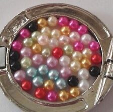 1000 No Hole Pearls Floating Charm Craft Jewelry 3mm Pink Black Red Gold Blue