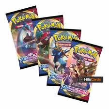 Pokemon Sword & Shield: 4 Booster Packs : New and Sealed : Base Set TCG Cards