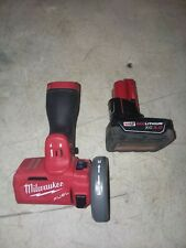 Used Milwaukee 2522-20 M12 FUEL 3in. Compact Cut Off tool With  3.0 Battery