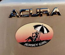 New. JERSEY GIRL  Beach Umbrella Auto MAGNET