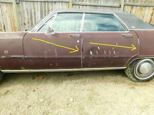 DOOR EDGE GUARD - SET OF 4 - 1969-1973 CHRYSLER 4 DOOR CARS