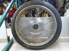 Triumph EARLY BSA Norton Harley Used Dunlop Wheel 50s 60s CD-10