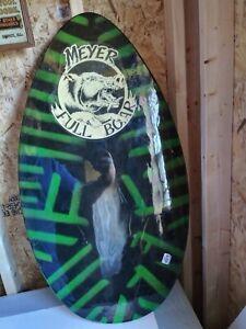 skim board Meyer Full Boar Brand Vintage Wood Skimboard Body Boogie