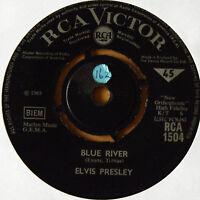 VGC! ELVIS PRESLEY: BLUE RIVER b/w DO NOT DISTURB RCA 1504