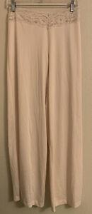 Vtg  FORMFIT ROGERS Lace Trim Nylon Full Pants Pantaloons Slip Pettipants Sz 6