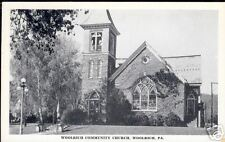 Woolrich, Pa - Woolrich Community Church