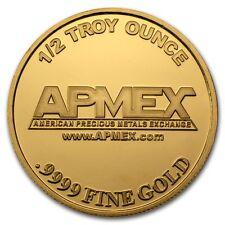 1/2 oz Gold Round - APMEX - SKU #57380
