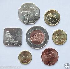 Darfur Coins Set of 7 Coins 2008 UNC