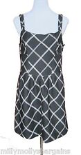 New Womens Black & White Tailored NEXT Dress Size 16