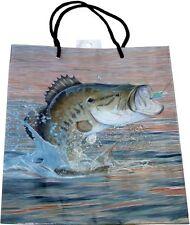 Gone Fishin' Fishing Cabin Party Bag - Fish Gift Bag, Medium