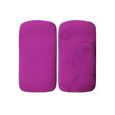Tasche Lila für iPhone 3 G / S 4 G / S Nokia N8 N97 E6 Lumia 510 Samsung
