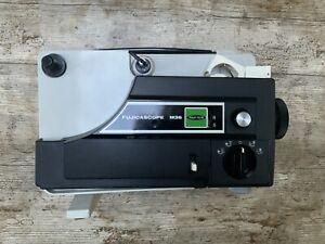 FUJICASCOPE M36 Fuji Film CINE PROJECTOR 8mm REEL TO REEL Boxed Retro