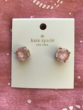 New Kate Spade mini small square studs Rose dew Pink Beautiful gift