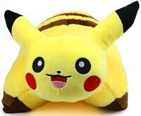 "17"" Pokemon Pikachu Pillow Pet Cushion Pocket Monster Plush Toy Stuffed Doll"