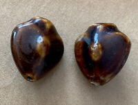 "Ancient Glass Tibetan Nazca Tribal Bead? Unique Design .5"" inches Antique Rare!"