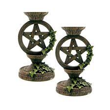"""Pentagram Taper Candleholder set 5 1/2"""""""