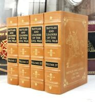 BATTLES AND LEADERS OF CIVIL WAR - Easton Press -