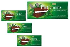 Mint Cream Chocolate - four (4) Bars - Old German Brand