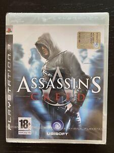 Assassin's Creed I 1 Prima Stampa Versione PAL Italiana PS3 Nuovo Sigillato
