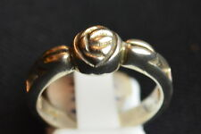 925 sterling silver unusual rose design ring size O brand new reduced sale price