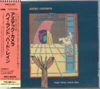 Aztec Camera High Land, Hard Rain JAPAN 1st Album CD with OBI WMC5-640