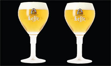 Belgium M17 - Pink Elephants 2 x Delirium Belgian Beer Glass 33cl