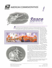 #553 32c Space Discovery #3238-3842a - USPS Commemorative Stamp Panel