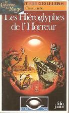 OEIL NOIR - Les Hiéroglyphes de l'Horreur *JDR* Folio Junior