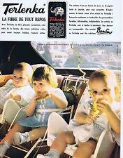 PUBLICITE ADVERTISING 015 1965 BAMBINO vêtement pour bébé
