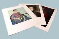 Classic Art Prints National Gallery of Art 3 Women by Van Gogh DaVinci Bronzino