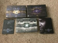 Starcraft 2 Collectors Edition: Wings of Liberty, Heart of Swarm, Legacy of Void