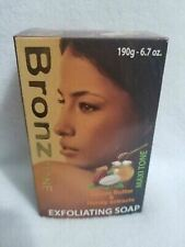 Bronz Tone Exfoliating Soap Cocoa Butter & Honey Extracts 190g FREE SHIPPING