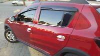 Dacia Sandero stepway 2012 up Chrome Windows Frame Trim 4 Door 4 Pcs S.Steel