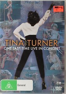Tina Turner DVD - One Last Time Live In Concert - Free Post